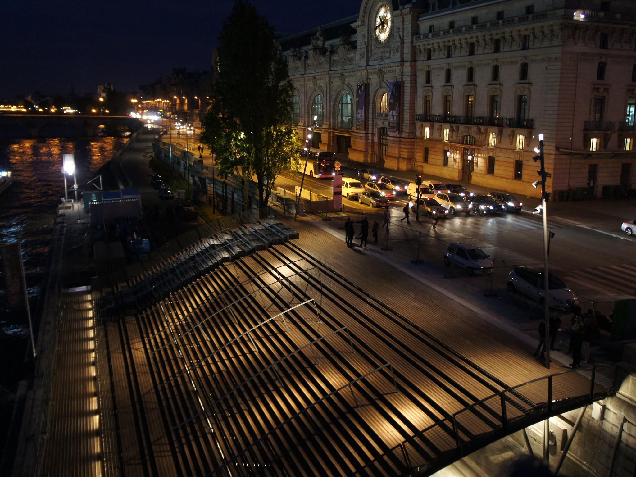 Les emmarchements quai solf rino paris for Architecte montargis